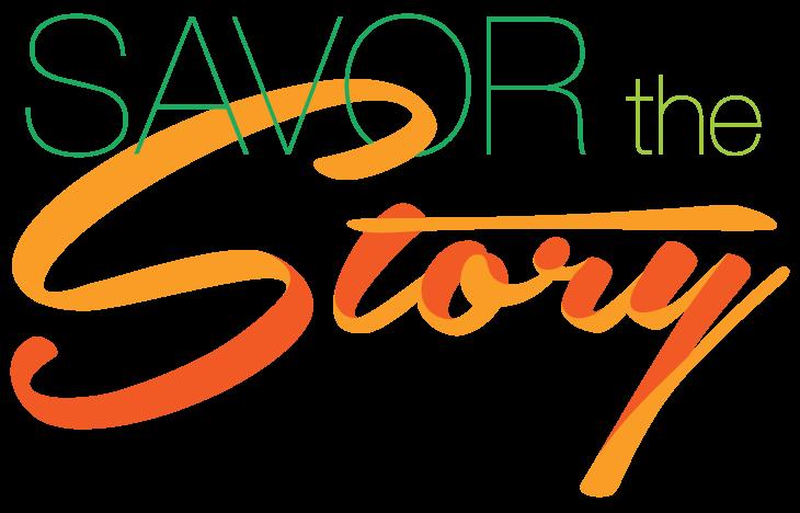 Savor The Story logo