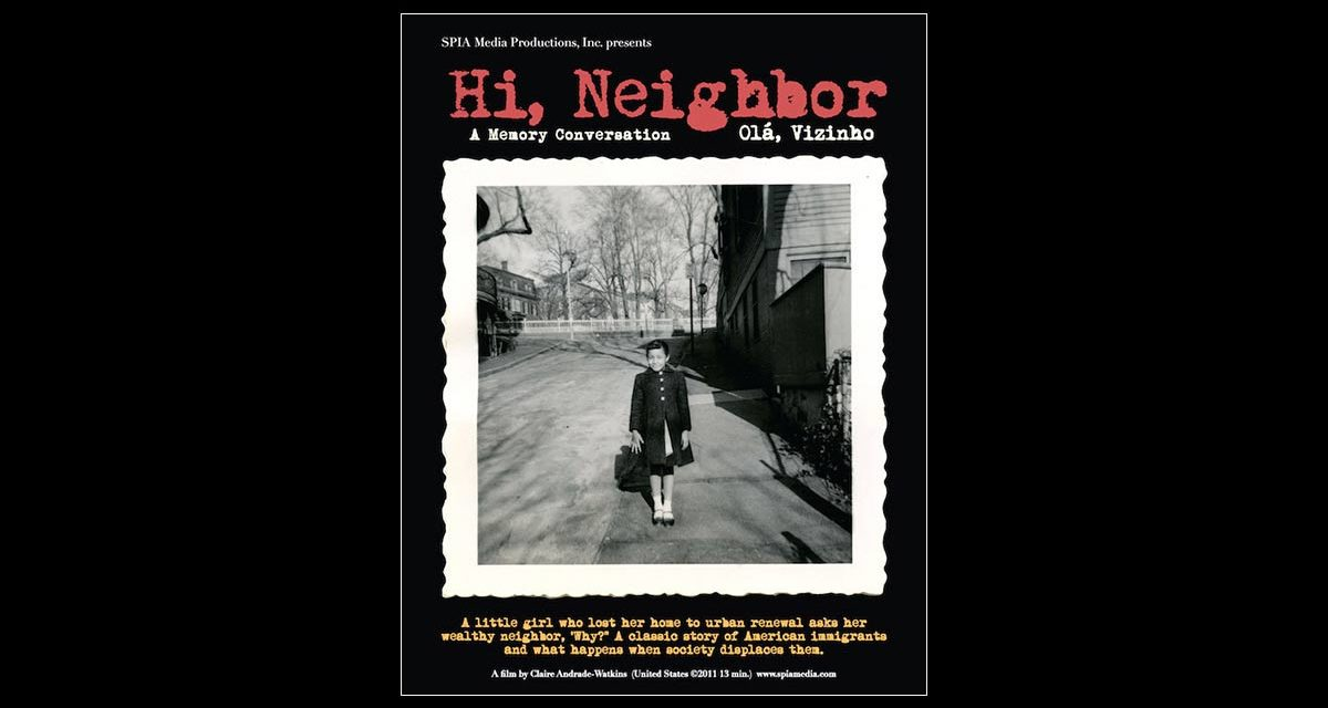 "A poster for the film ""Hi, Neighbor"""