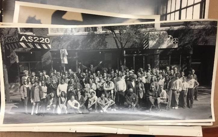 Photograph of AS220 staff, from the AS220 collection