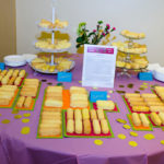 Custom made twinkies on display at the On The Table event