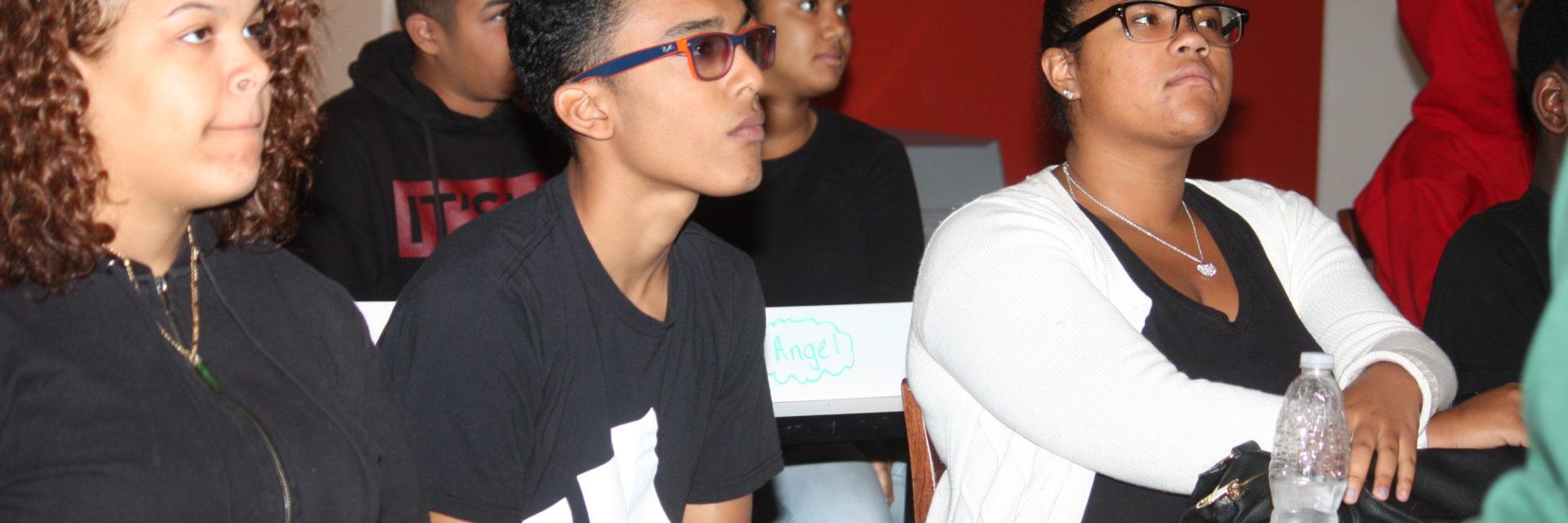 Teen Squad program, My City, My Place participants