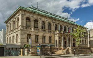 Exterior of the Providence Public Library - facing Washington Street
