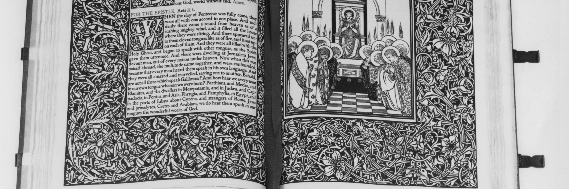Pages from the Altar Book, published by Merrymount Press