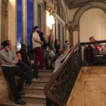 Chris Daltry/Allysen Callery/John Faraone perform at the Providence Public Library, May 9, 2015