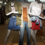 Mannequins at Nordstrom in Providence Place Mall - Teen Squad Visual Merchandising Program