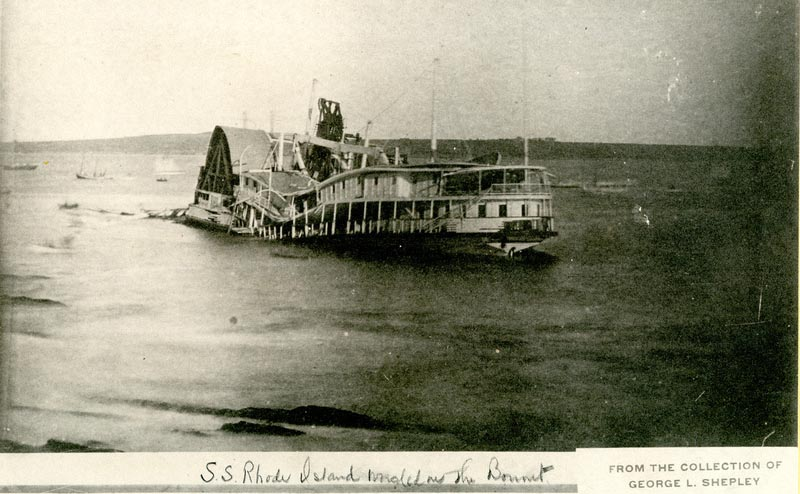 Image of the SS Rhode Island