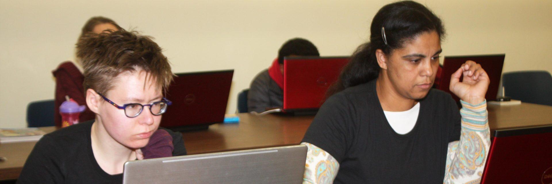 Adults in PPL Rhode Coders class.