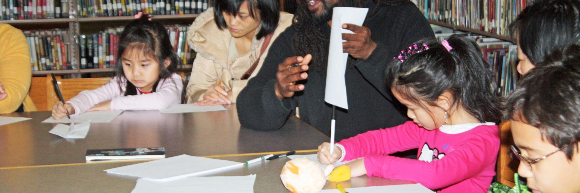 Family Learning Program - Children's writing workshop.