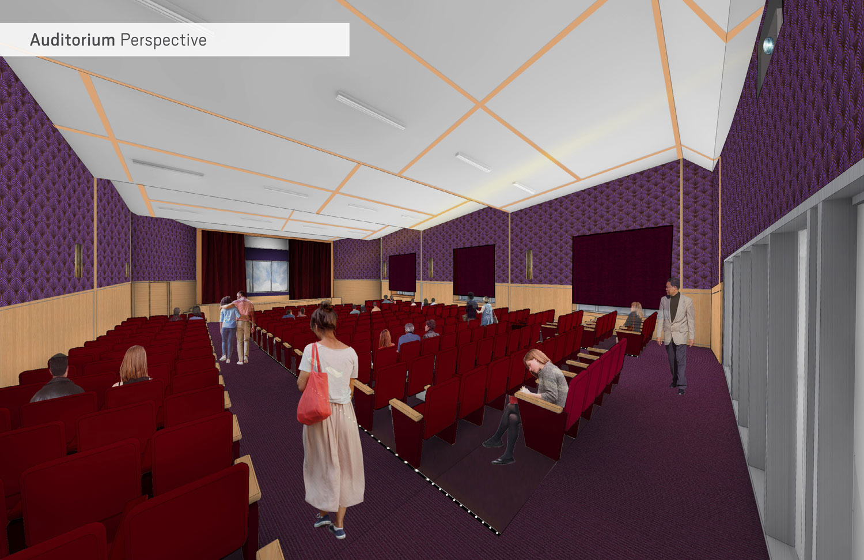 Level Three - Auditorium Perspective