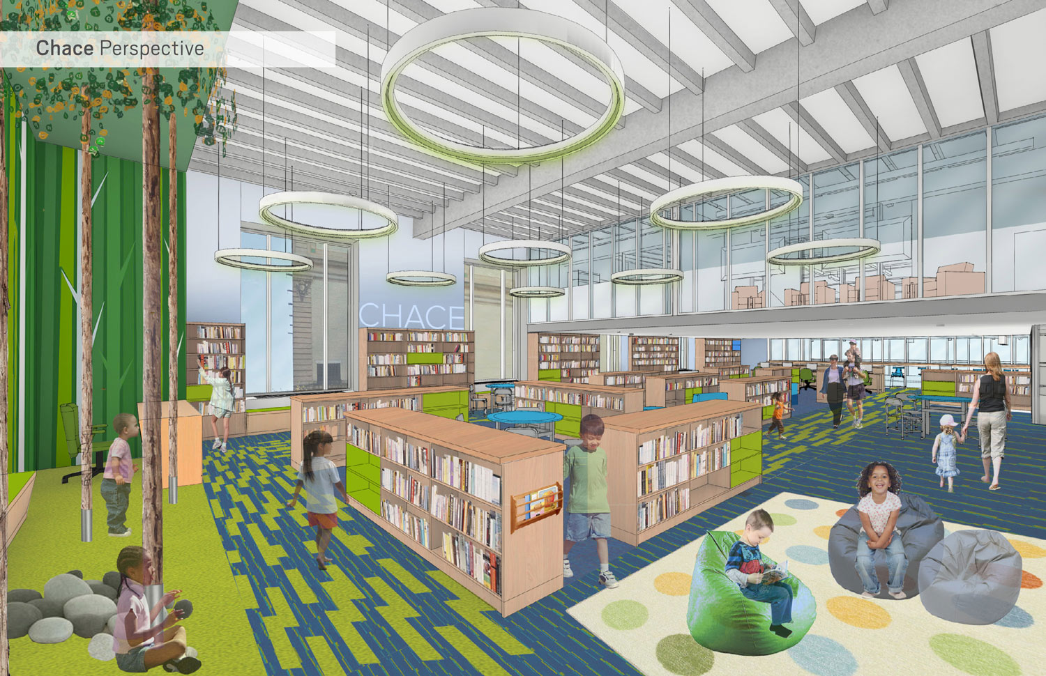 Level One - Chace Children's Library Perspective