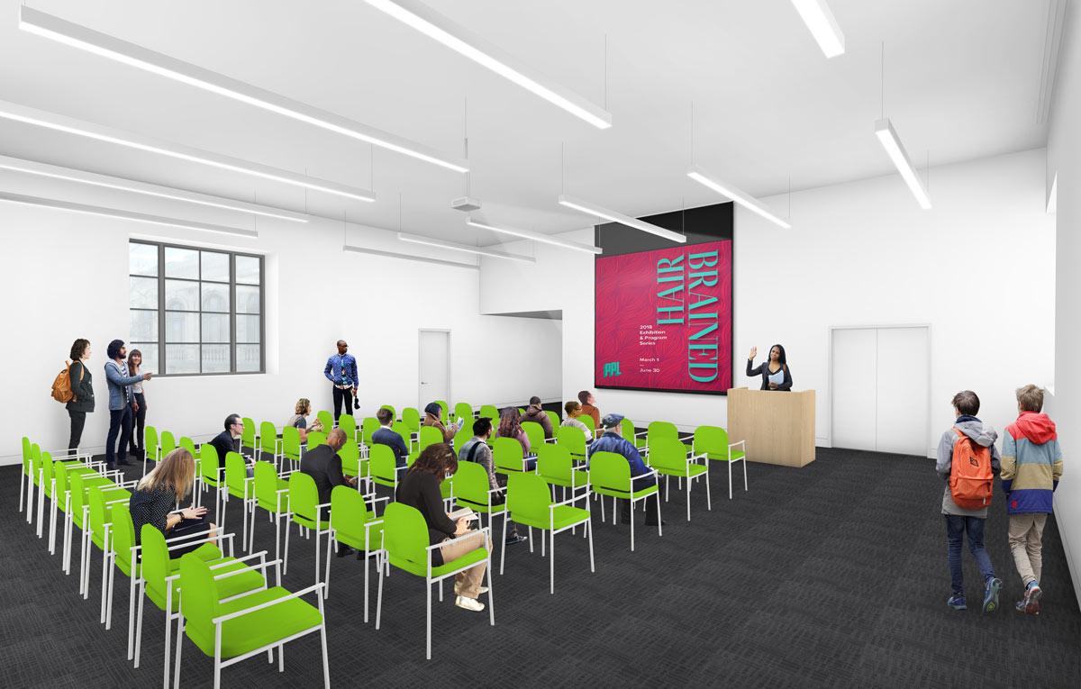 Flex-room Architect's rendering