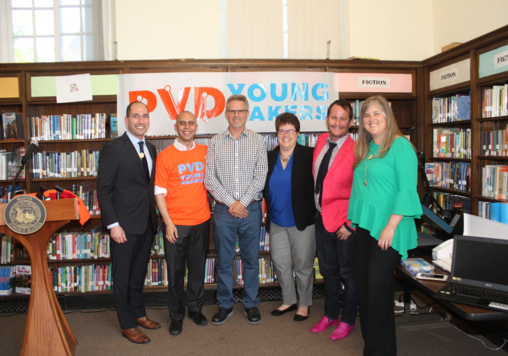 PVD Young Makers Program Launch