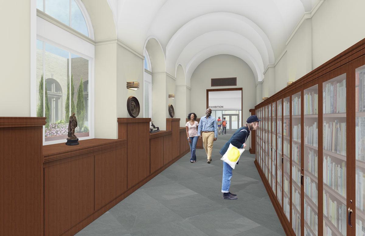 Gallery Walk West - Architect's Rendering