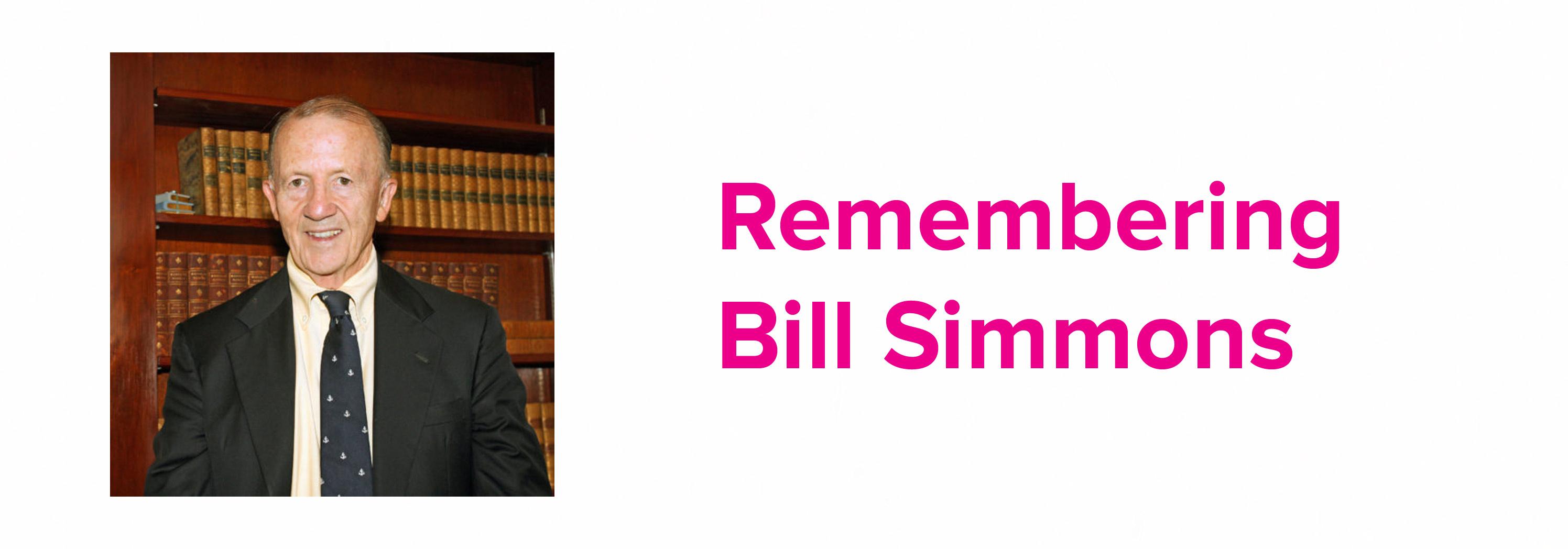 Remembering Bill Simmons