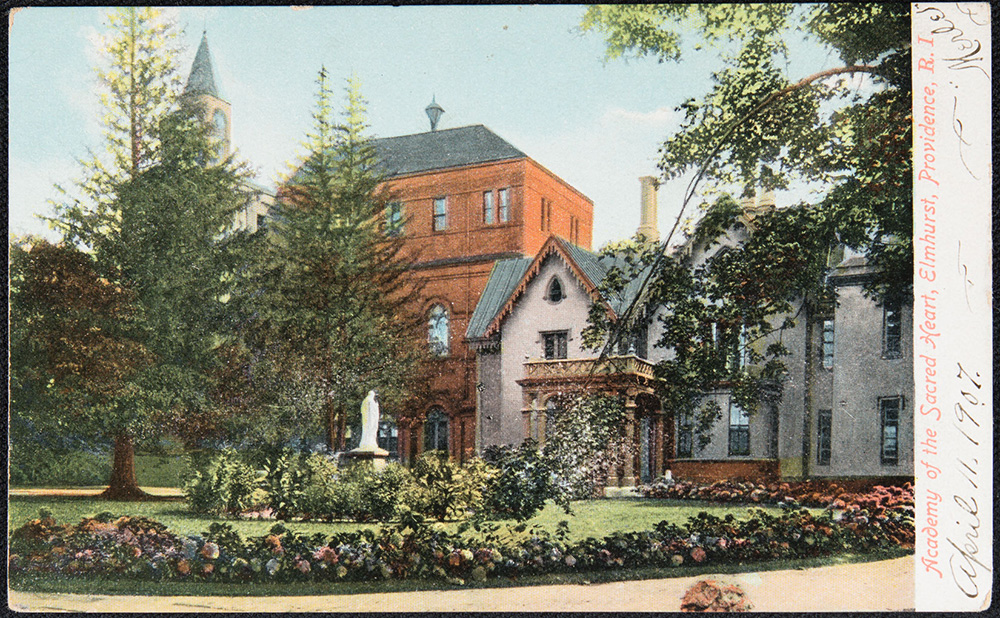 Academy of the Sacred Heart Postcard