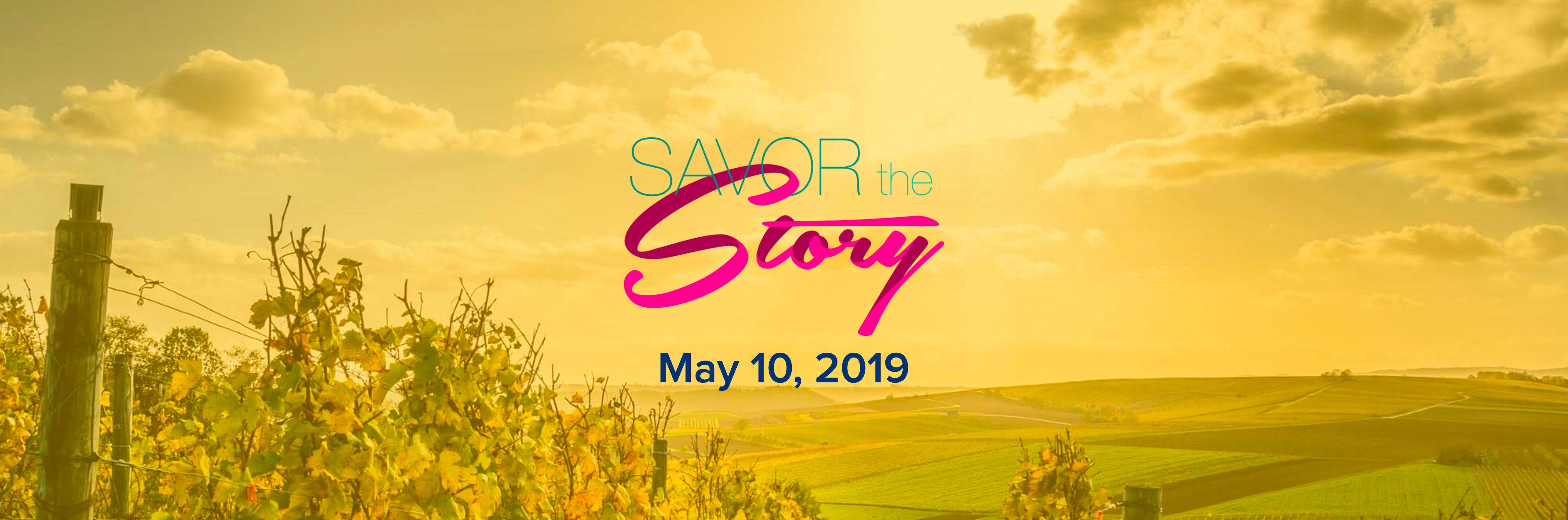 Savor The Story Toast Header