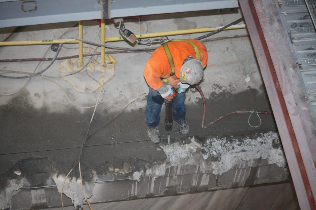 First Floor Beam Cut