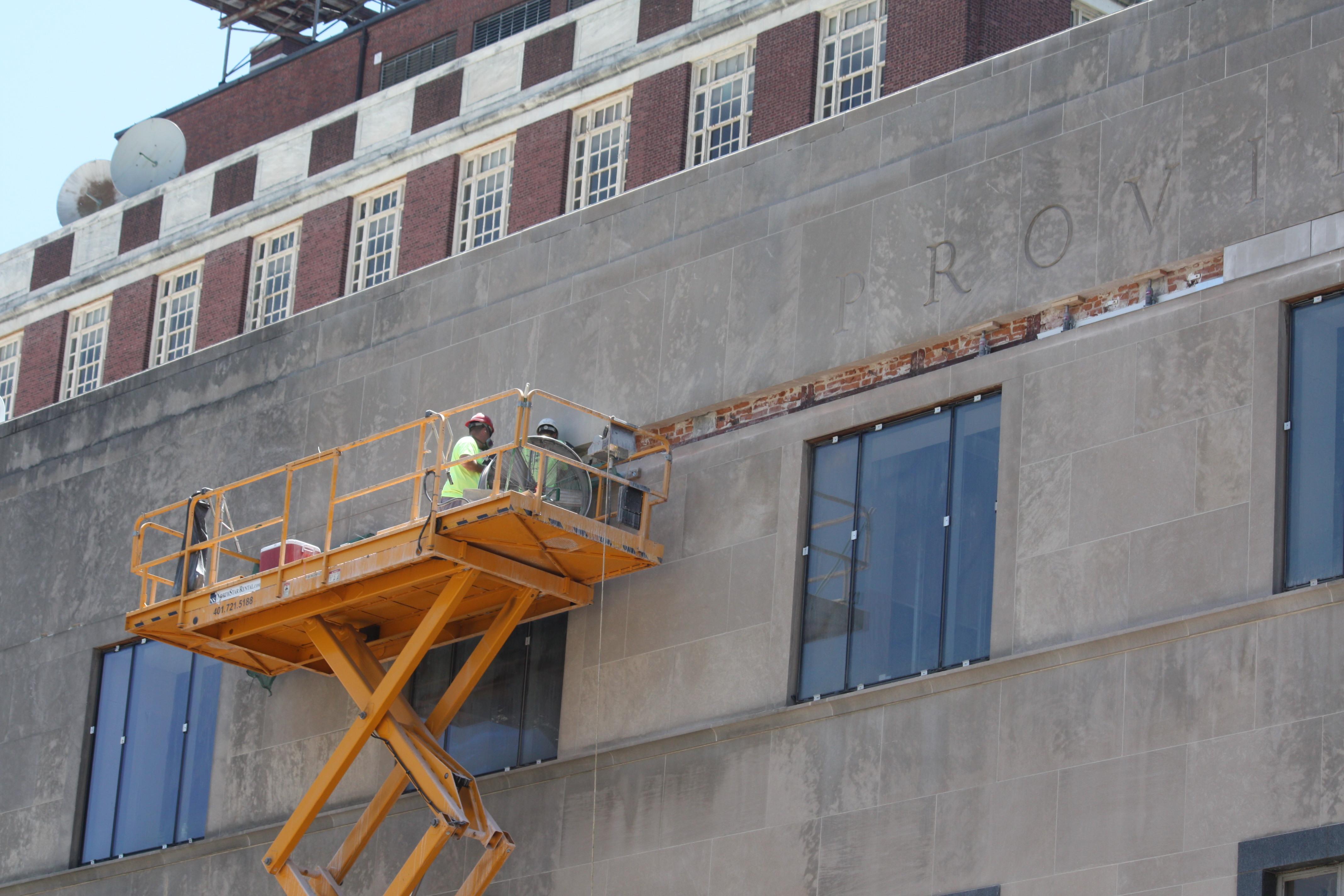 Empire St Building Repair