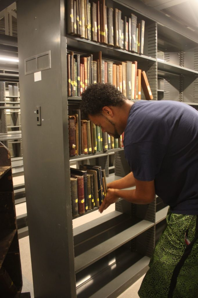 Special Collections Move