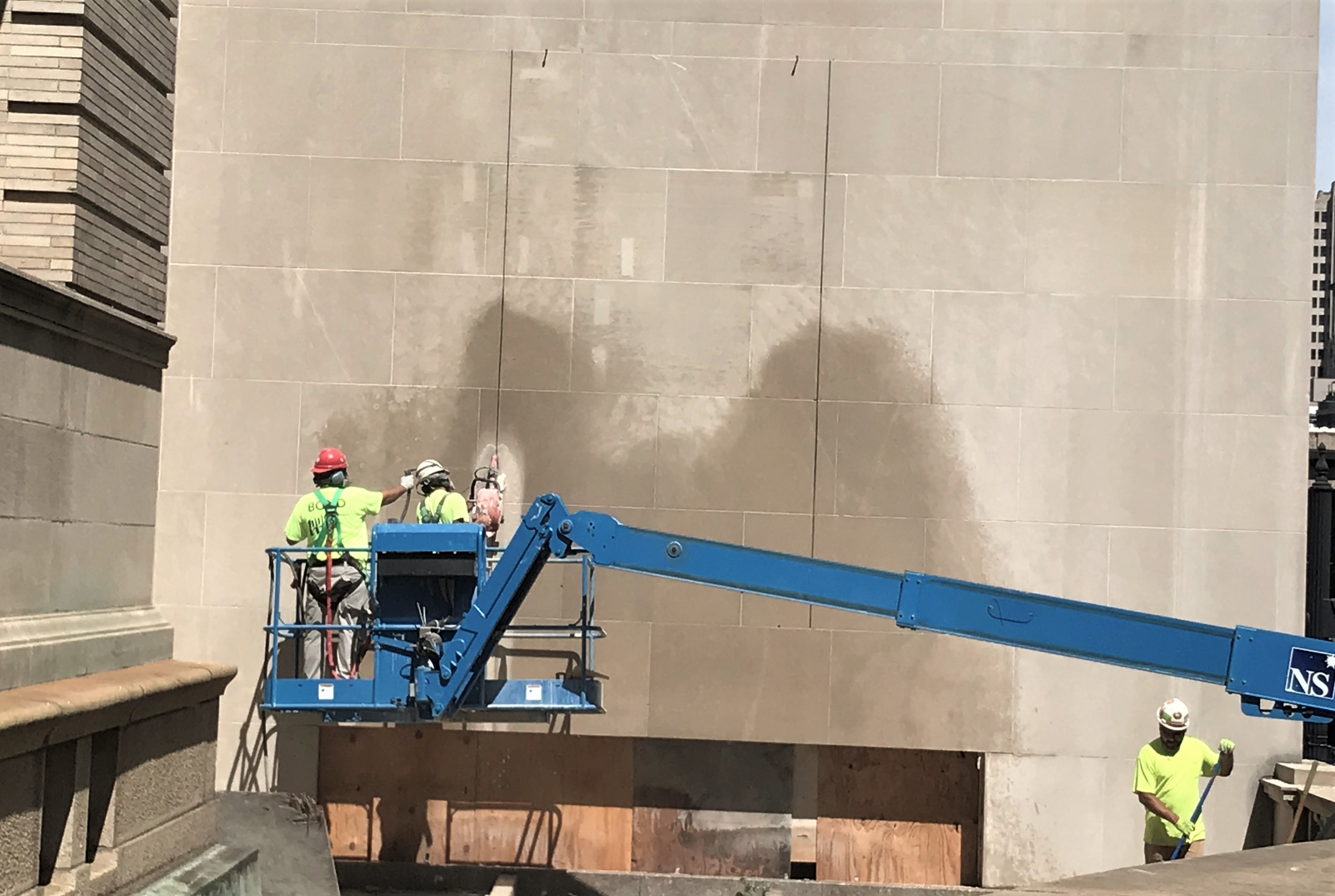 Washington St Window Cut