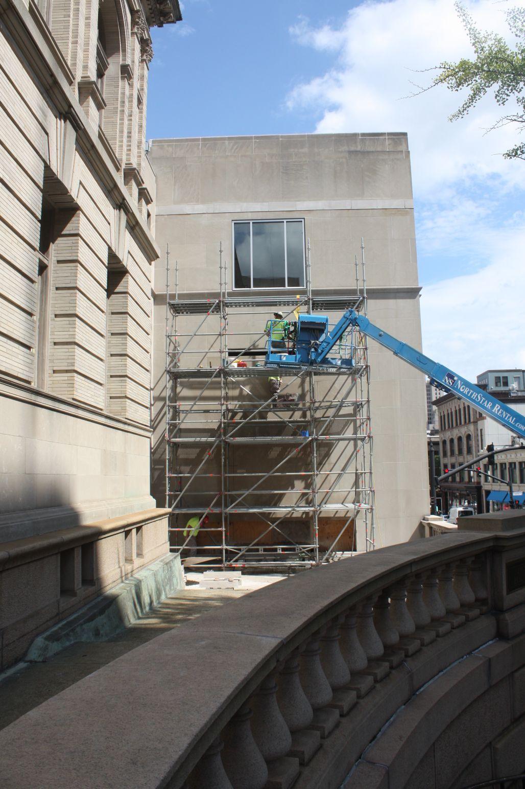 Washington St Window CutWashington St Window Cut