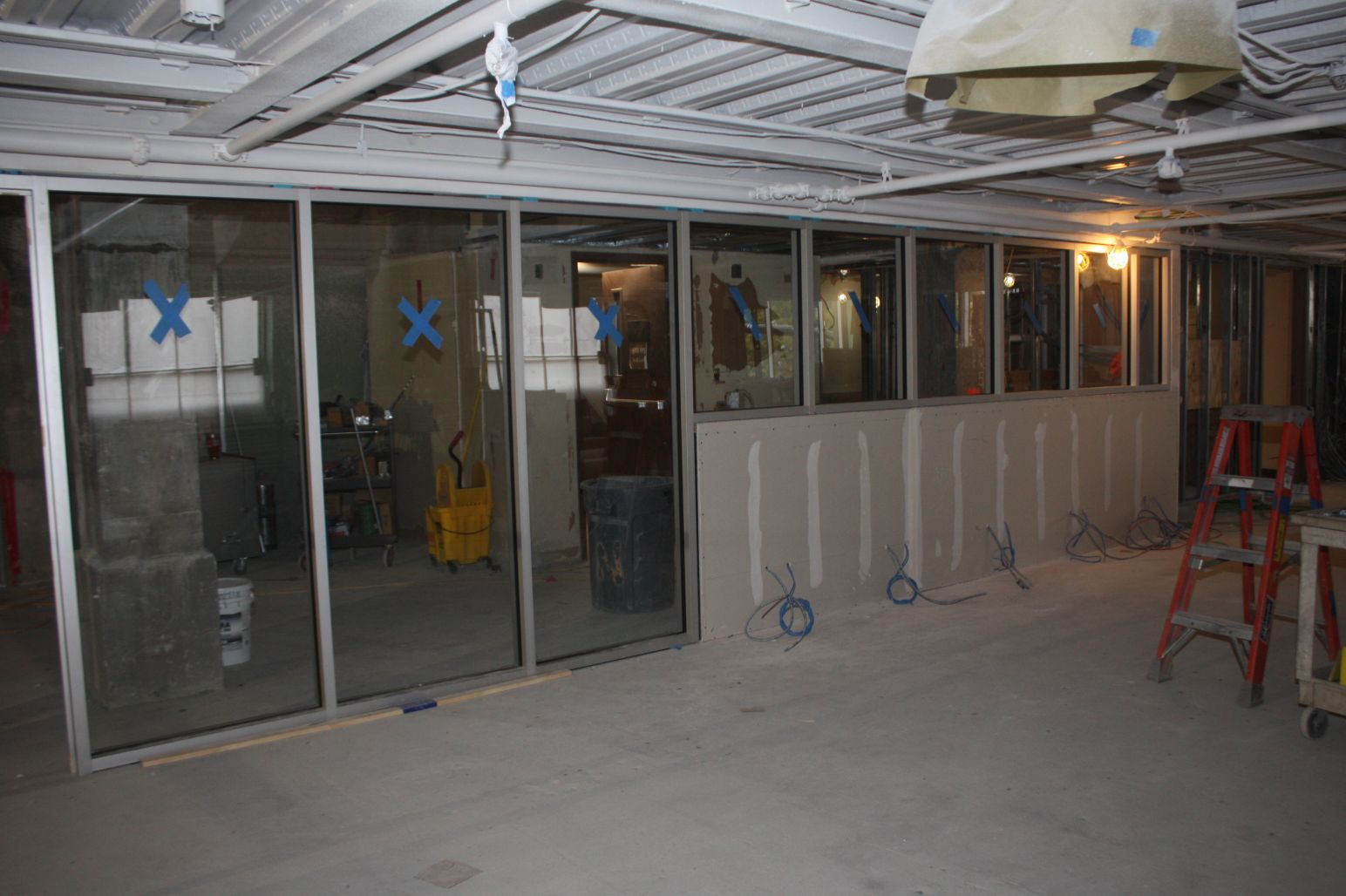 Inside Glass Walls