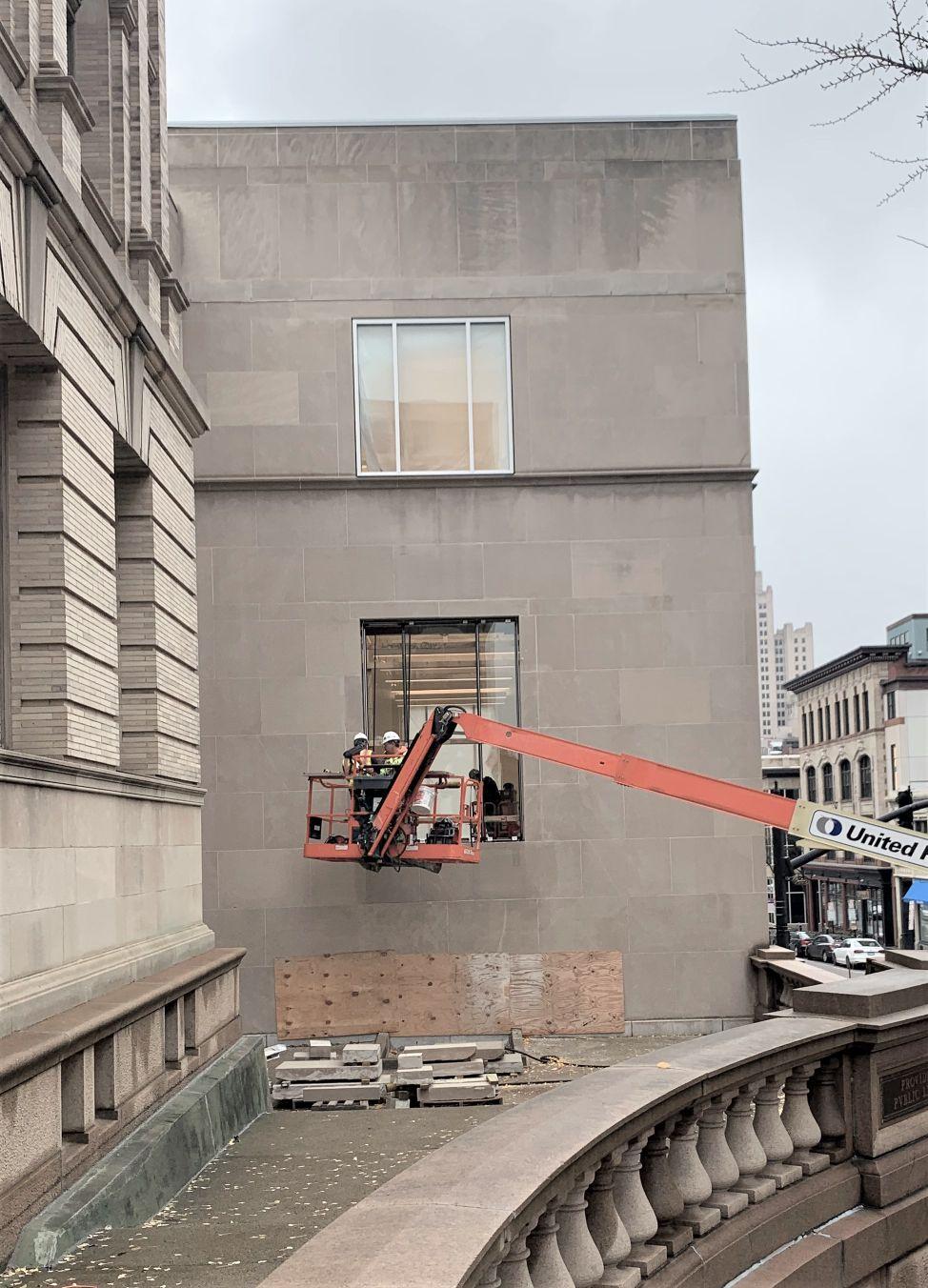 New Washington St Window