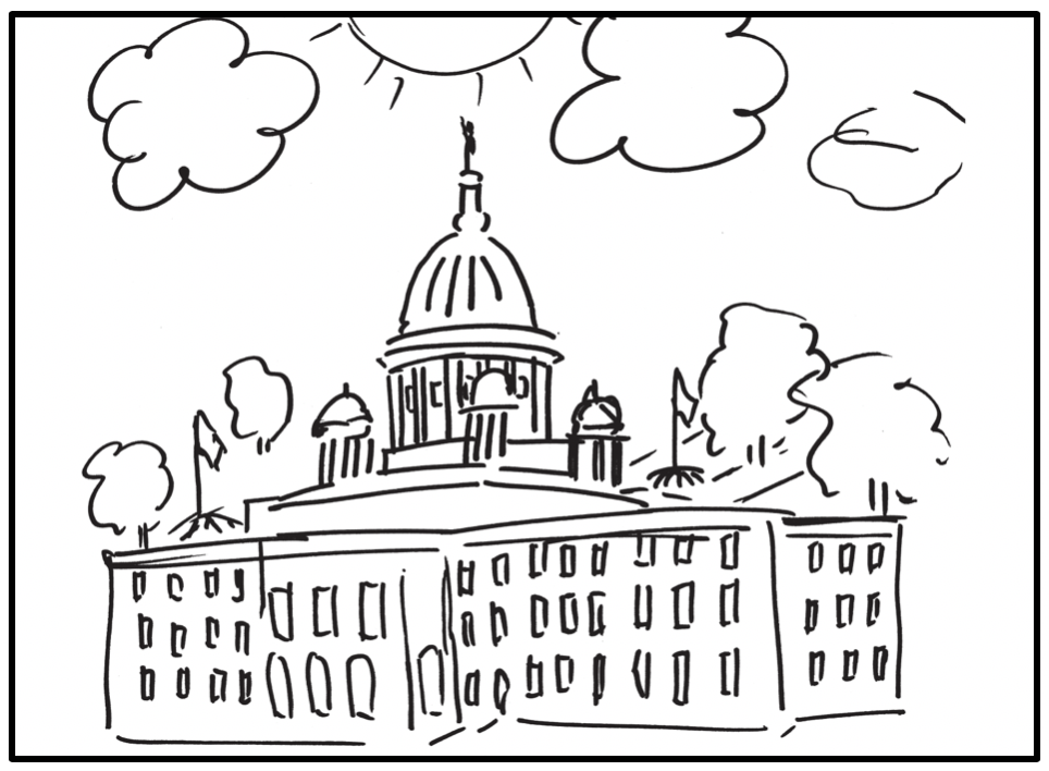 RI State House logo