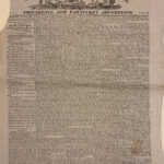 Manufacturers' & Farmers' Journal, Providence and Pawtucket Advertiser, Vol. 1, No. 18 (March 2, 1820).