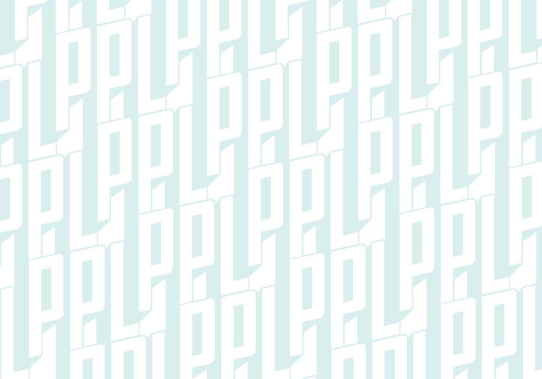 PPL Logo Pattern in light blue