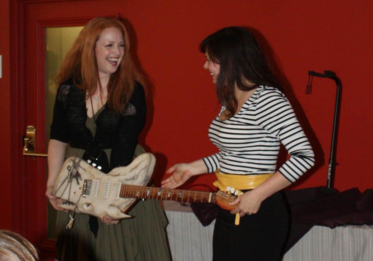 Jen Long & Rachel RosenKrantz-Riemer, Whale Guitar creators